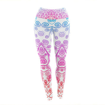 "Monika Strigel ""Safe and Sound"" Yoga Leggings"
