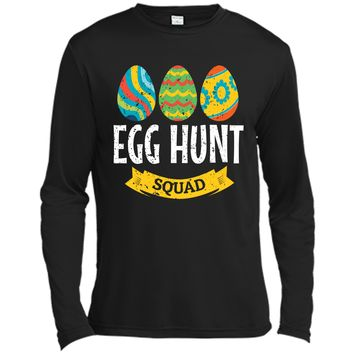 Easter Egg Hunt Shirt Toddler Squad Tee For Egg Hunt Basket Long Sleeve Moisture Absorbing Shirt