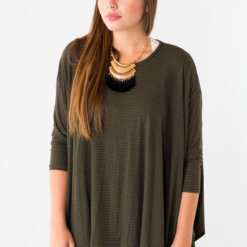 Hold Me Close Top in Green