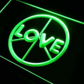 Peace Love Neon Sign (LED)