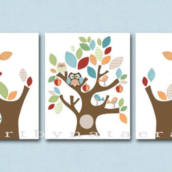 Neutral Nursery Canvas Art Baby Room Decor Print Wall