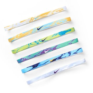 Nike 6-pk. Assorted Tie-Dyed Headbands - Unisex