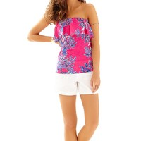Lilly Pulitzer Wiley Tube Top Printed