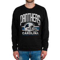 Carolina Panthers Fleece Crew Sweatshirt – Black
