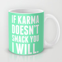 Karma Mug by LookHUMAN