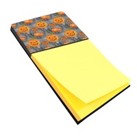 Watecolor Halloween Pumpkins Sticky Note Holder BB7521SN