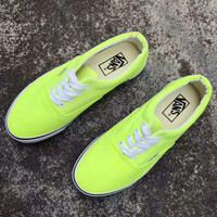 x1love :Vans Authentic Women's Fluorescence Color Canvas Shoes Sneakers