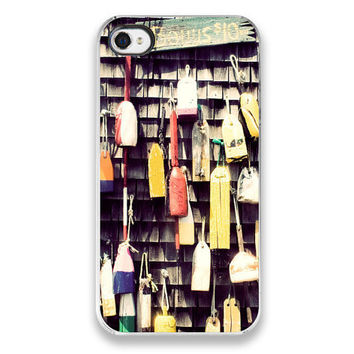 iPhone 4 Case  Lobster Buoys Photograph  by JillianAudreyDesigns