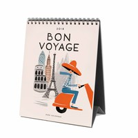 2018 Rifle Paper Co. Bon Voyage Desk Calendar