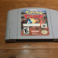 Pokemon Stadium  Nintendo 64 n64 console system game FREE SHIPPING pikachu squirtle