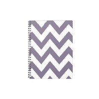 Purple Chevron Note Books from Zazzle.com