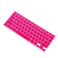 Amazon.com: IVEA Pink Keyboard Silicone Cover Skin for New Aluminum Unibody Macbook Pro 13, 15, 17 inches - FIT ALL: Computers & Accessories