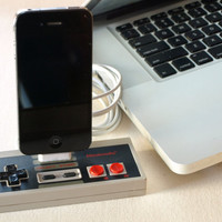 Nintendo Controller iPhone Dock by GeekUnique on Etsy