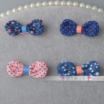 ornament hair bow hair clip flower mini. clips for kids girls hairgrips Newborn hairpins accessories