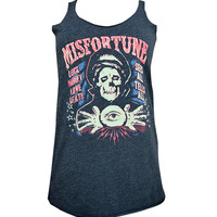 Misfortune Tank Top By Lowbrow Art Company