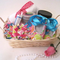 Mommy & Me gift basket-Pink from Playa Blu