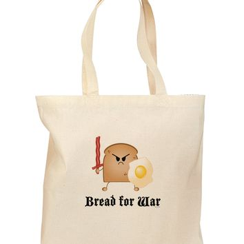 Bread for War Grocery Tote Bag