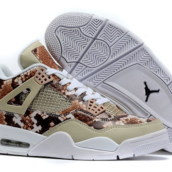 Men's Nike Air Jordan 4 Retro Pinnacle Snakeskin