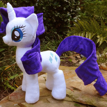 Rarity Plush My little pony plushie stuffed toy MLP