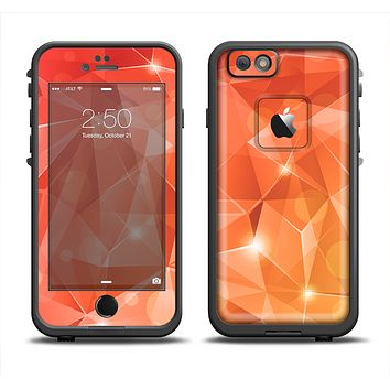 The Vector Shiny Coral Crystal Pattern Apple iPhone 6 LifeProof Fre Case Skin Set