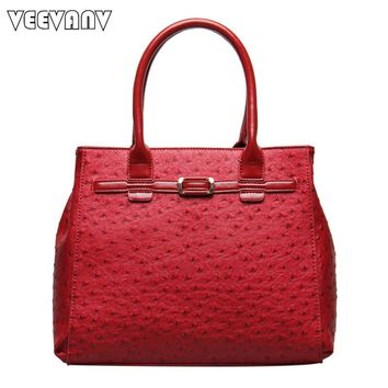 2017 VEEVANV Fashion Quilted Embosse Women Handbag Ladies Designer High Quality Leather Shoulder Messenger Bags Female Tote Bags
