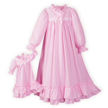 Clara's Nightgown Pink, Nutcracker Clara Nightgown. Made in USA