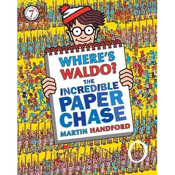 Where's Waldo? The Incredible Paper Chase (Where's Waldo?)