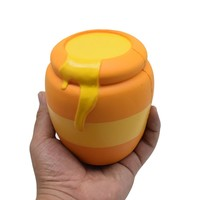 novelty Honey Cans Squishy Decor Slow Rising Kid Toy