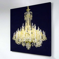 Grand Chandelier Glo Canvas from Duffy London | Made By Duffy London | £205.00 | BOUF