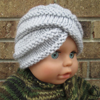Infant knit baby boy turban crochet baby turban crochet baby hats turban Crochet baby Hat knitted baby photo prop Baby Turbans Knit Hat