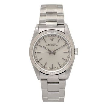 Rolex Oyster Perpetual Automatic Self Wind Womens Watch 77014 (certified Pre Owned)