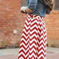Zig Zag Your Way Into Spring Style With Chevron Prints!