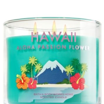 3-Wick Candle Hawaii Aloha Passion Flower