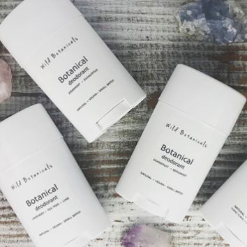Wild Botanicals Natural Deodorant, Almond and Wildflowers