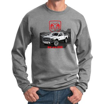 Buy Cool Shirts Dodge Sweatshirt White Ram Pullover Sweat Shirt