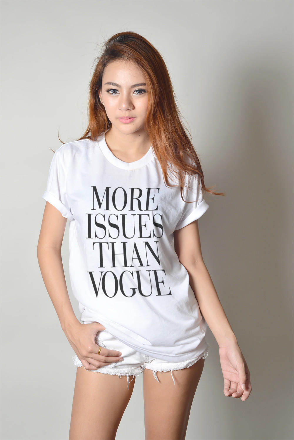 More Issues Than Vogue T-Shirt Cute Teen from LuvMeLuvMyShirts