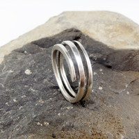 RING ARCHITECT in Sterling Silver Modern by GGoriginal on Etsy