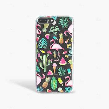 Summer iPhone 7 Case Tropical iPhone 7 Case Ice cream iPhone 7 Plus Case Cactus iPhone 7 Case Pineapple iPhone 7 Case Flamingo iPhone Case