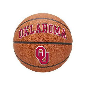 Oklahoma Sooners Official NCAA Triple Threat Full Size Indoor Outdoor Rubber ...