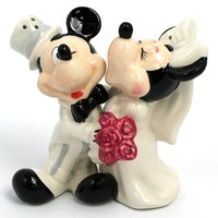 Mickey & Minnie's Wedding - Salt & Pepper Shakers