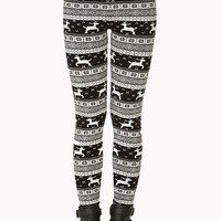 Festive Fair Isle Leggings