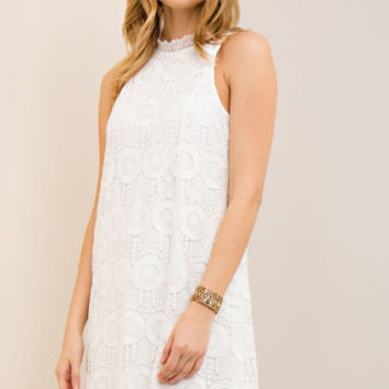 Moving On Dress - White