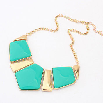 Shiny New Arrival Gift Jewelry Stylish Gemstone Hot Sale Necklace [6586423495]