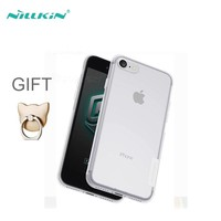 For iPhone 6 iPhone 7 Case NILLKIN Ultra Thin Transparent Soft Silicone TPU Phone Cases Cover For Apple iPhone 6 6S 7 Coque