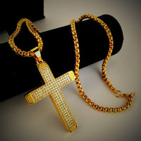 Stylish Shiny New Arrival Jewelry Gift Hot Sale Fashion Accessory Hip-hop Club Necklace [6542785859]