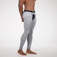 Feed Me Gray Tights for Men