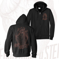 Front Porch Step - Heart Zip-Up