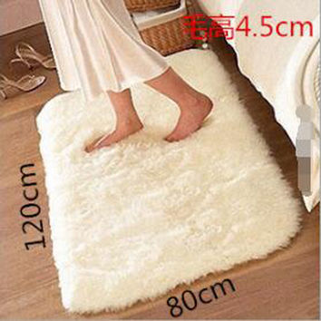 modern rugs and carpets for home living room throw rugs for living room soft long hair bedroom carpet Home textile  SWDT-4