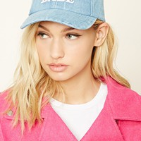 Maui Babe Denim Baseball Cap