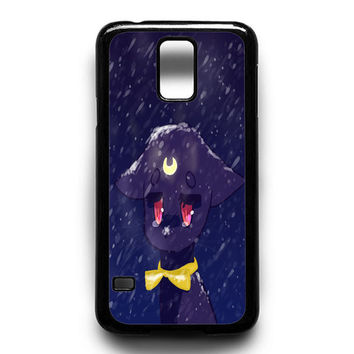 Sailor Moon Luna Samsung Galaxy S4 Galaxy S5 Galaxy S6 Galaxy S6 Edge Galaxy S6 Edge Plus Galaxy S7|S7 Edge Case